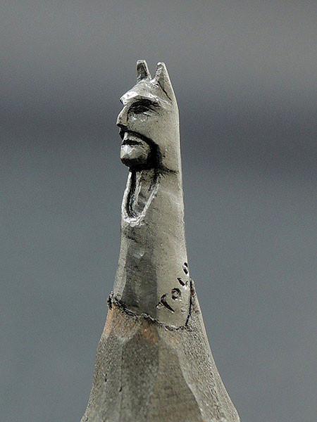 新作!?鉛筆の芯で作る彫刻が凄いwwwの画像(6枚目)