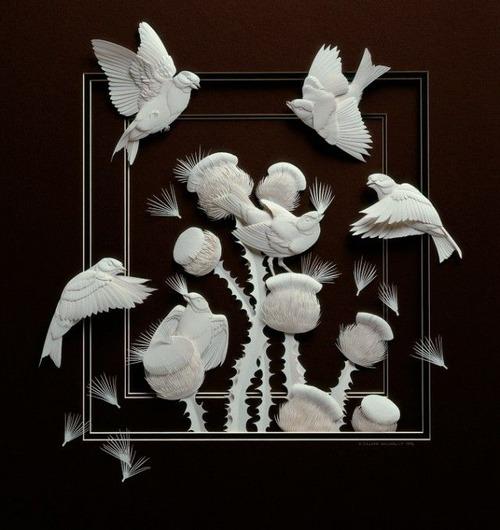 【画像】普通の紙で作る動物のペーパー・カッティング(切り絵)が凄い!!の画像(4枚目)