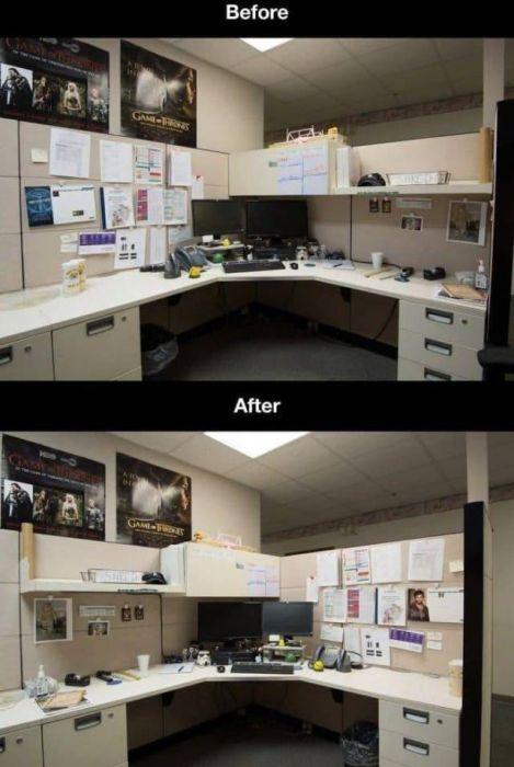 酷過ぎるオフィスのイタズラ_26