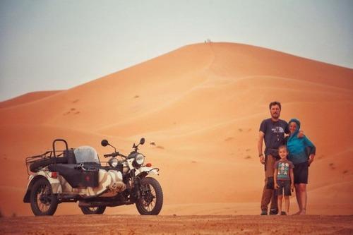 【画像】1台のバイクで家族3人が41カ国を4ヶ月で制覇!!の画像(25枚目)