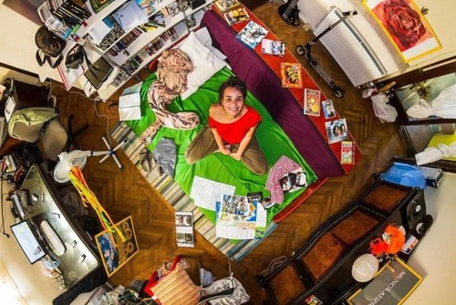 世界各国の人達のベッドルームの画像(9枚目)