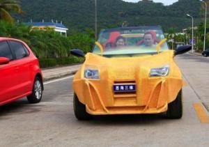 中国の3Dプリンタで作られた自動車がなんだかヤバイ!の画像(5枚目)