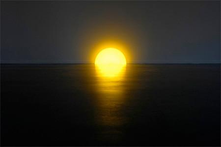 夕日に見える、サンセットランプ05