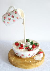 【画像】素晴らしすぎて食欲は起きないアートなケーキが凄い!!の画像(21枚目)