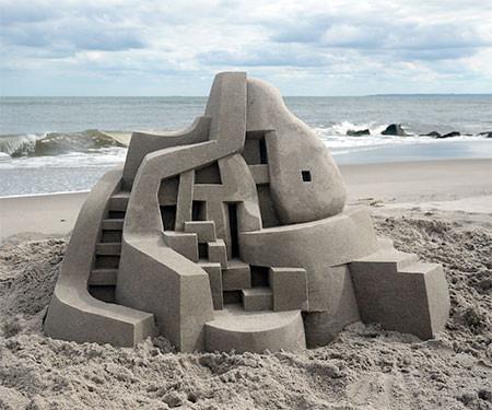 砂で作られた近代的なお城のアートの画像の数々!!の画像(14枚目)