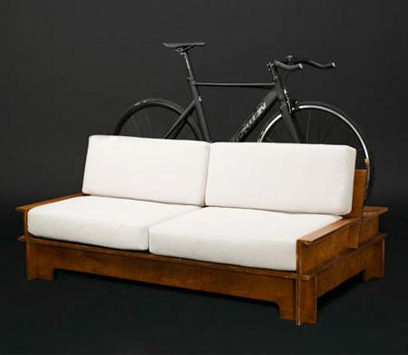 ちょっとした工夫で自転車の収納がカッコよくなる!の画像(3枚目)
