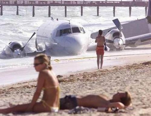 事故=大惨事!笑えるか笑えないか微妙な飛行機事故の画像の数々!!の画像(47枚目)
