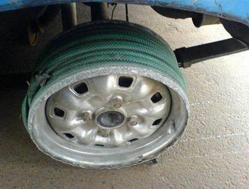【画像】修理方法が驚異的に雑すぎて、凄いことになってる自動車の数々!!の画像(19枚目)