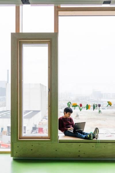 【画像】コペンハーゲンの小学校が子供の秘密基地のよう!!の画像(12枚目)