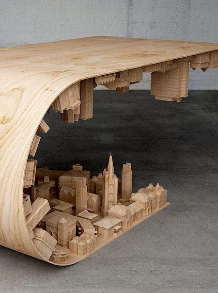 【画像】大きな街を再現したテーブルが凄い!!の画像(6枚目)