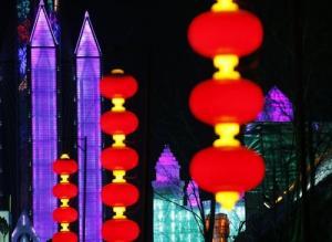 中国の雪祭りがなんだか華やか!の画像(2枚目)
