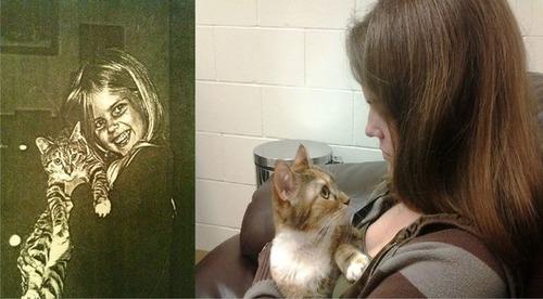 犬や猫の最初に撮った写真と最後に撮った写真の数々の画像(7枚目)