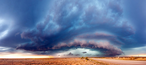 幻想的で恐ろしい!嵐が起こっている空を映した写真の数々!!の画像(10枚目)
