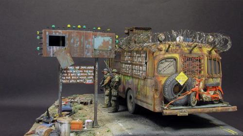【画像】単なるバスのプラモでも超本気で作ると凄いことになるwwwの画像(49枚目)