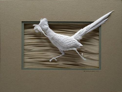 【画像】普通の紙で作る動物のペーパー・カッティング(切り絵)が凄い!!の画像(21枚目)