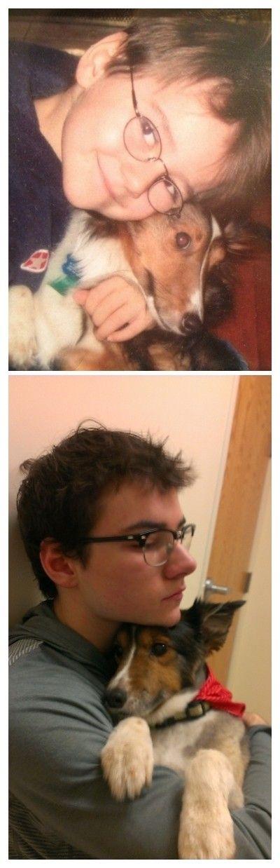 犬や猫の最初に撮った写真と最後に撮った写真の数々の画像(3枚目)