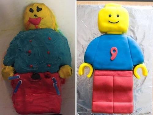 作ったお菓子と成功例の比較の画像(10枚目)
