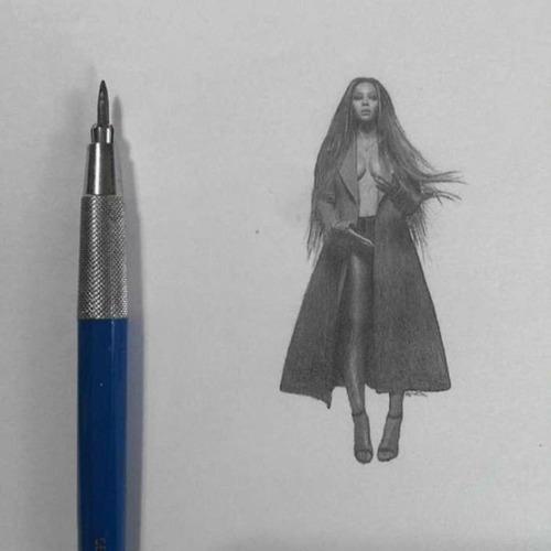 鉛筆やシャーペンで描いた小さいけど凄いクオリティの画像の数々!!の画像(17枚目)