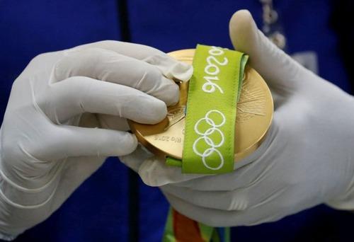 オリンピックのメダルの作り方の画像(17枚目)