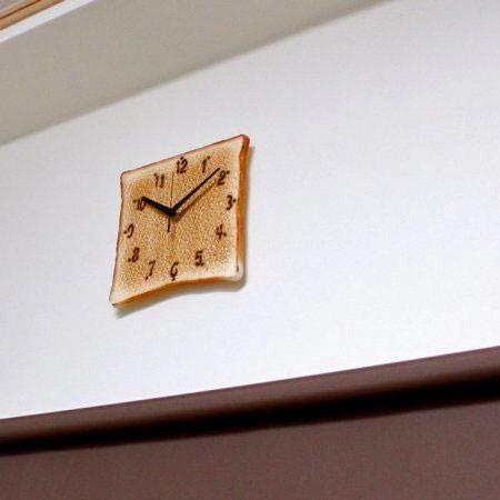 食パンの時計の画像(4枚目)