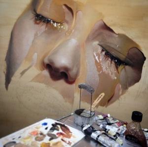 写真のように液体を描く!ちょっとエロい雰囲気の画像アートができるまで!の画像(9枚目)