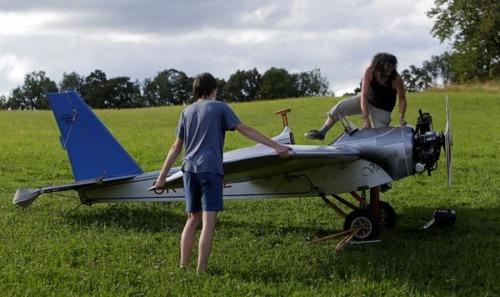 自作の飛行機で会社に通勤の画像(3枚目)