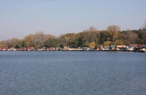 【画像】ハンガリーの湖に浮いている村がなんだか不思議!!の画像(6枚目)
