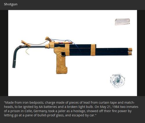 【画像】刑務所の囚人が作った隠し武器やガジェトの数々!!の画像(12枚目)