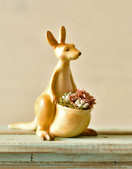 植木鉢で癒される!かわいい動物のプランターの画像の数々!!の画像(3枚目)