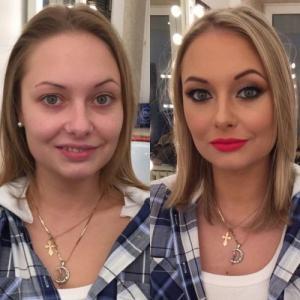 女性の化粧前、化粧後の画像の数々_06