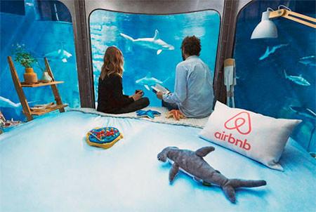 【画像】360度、水に囲まれたお部屋に泊まれるホテルが凄い!!!の画像(2枚目)