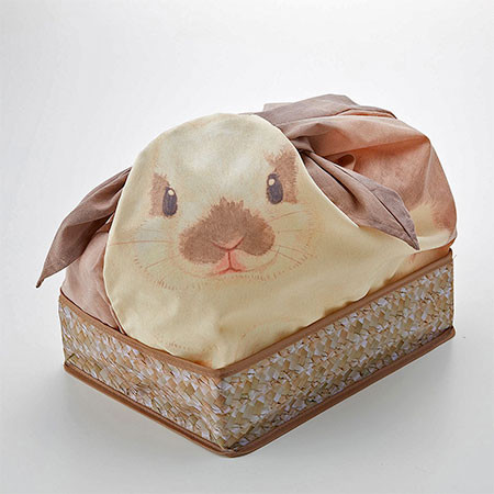 ウサギになる風呂敷の画像(6枚目)