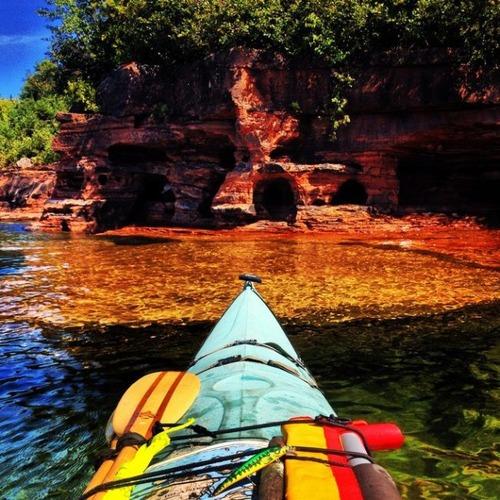 カヤック(カヌー)に乗る理由がわかる川沿いの風景の画像の数々!!の画像(2枚目)