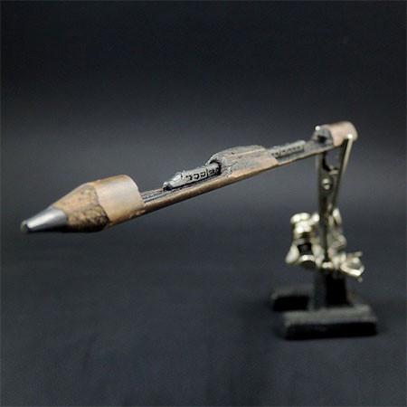 新作!?鉛筆の芯で作る彫刻が凄いwwwの画像(9枚目)
