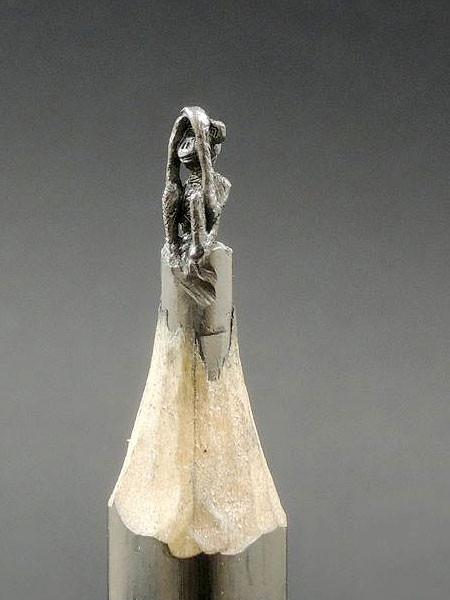 新作!?鉛筆の芯で作る彫刻が凄いwwwの画像(4枚目)