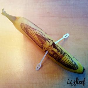 【画像】バナナに絵を描くアートがさらに進化しているwwの画像(13枚目)