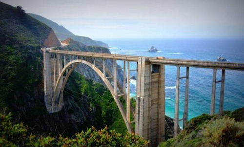 美しい橋の画像(10枚目)