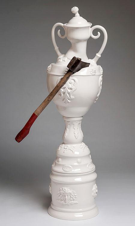 破壊された陶器の画像(6枚目)