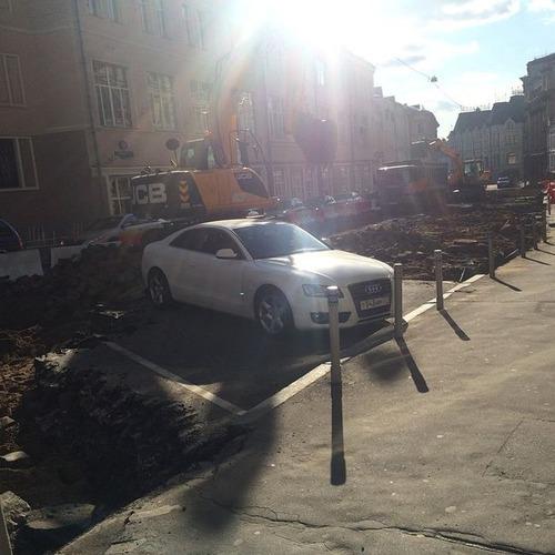 違法駐車している自動車への制裁が凄まじい!!の画像(6枚目)