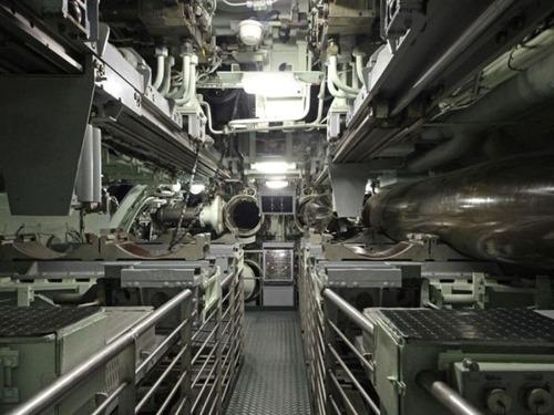 原子力潜水艦の内部の画像(33枚目)