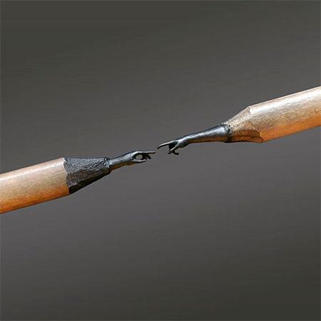 新作!?鉛筆の芯で作る彫刻が凄いwwwの画像(14枚目)
