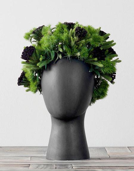 【画像】人の頭から花や植木が生えてくる植木鉢wwwの画像(12枚目)