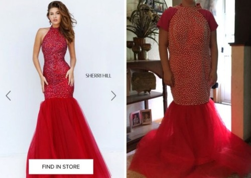 美しいドレスの商品写真の画像(21枚目)