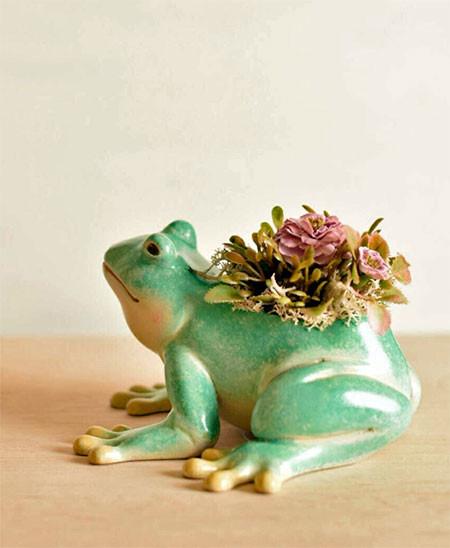 植木鉢で癒される!かわいい動物のプランターの画像の数々!!の画像(4枚目)