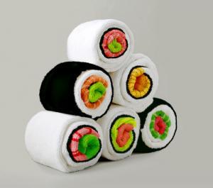 寿司のようなバスタオルの画像3