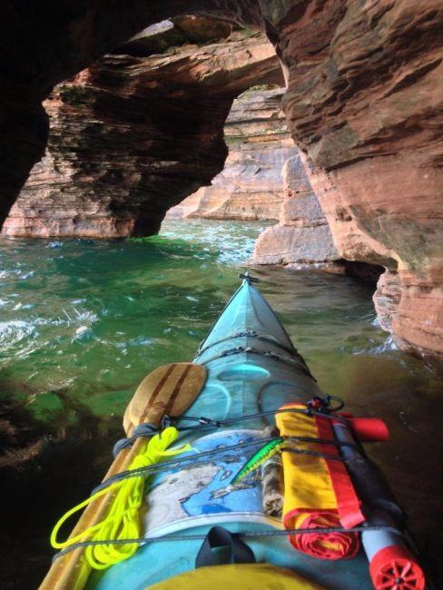 カヤック(カヌー)に乗る理由がわかる川沿いの風景の画像の数々!!の画像(3枚目)