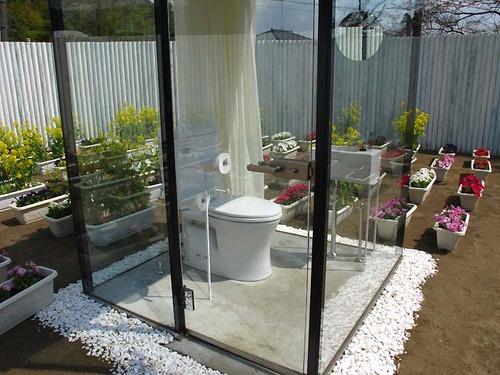 豪華過ぎるガラス張りのトイレの画像(3枚目)