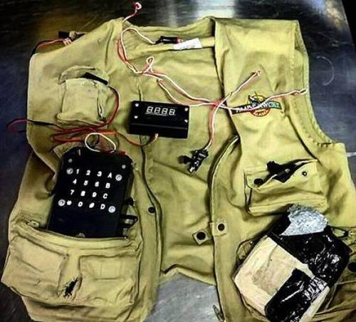 飛行機で没収された隠し武器の画像(10枚目)