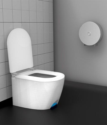 足で踏んで開け閉めできる!トイレのフタ03