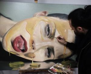 写真のように液体を描く!ちょっとエロい雰囲気の画像アートができるまで!の画像(6枚目)